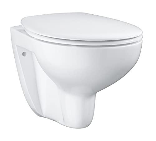 GROHE Bau Keramik | Wand-Tiefspül-WC Set, inkl. WC Sitz | alpinweiß | 39351000