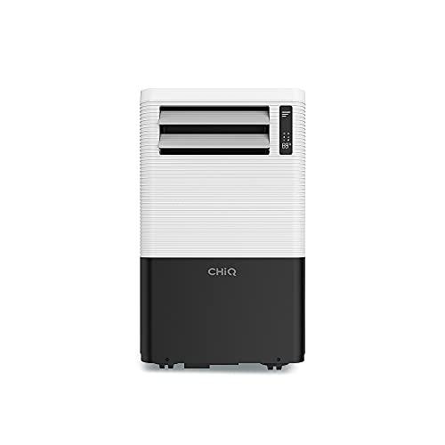 CHiQ 3in1 Mobiles Klimagerät 1280 Watt Klimagerät mit Abluftschlauch und Fenster-Abdicht-Kit |...