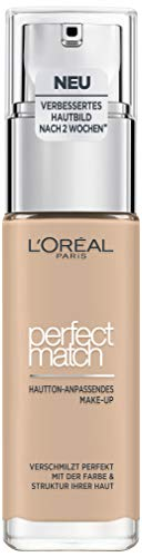 L'Oréal Paris Perfect Match Make-up 2.R/2.C Rose Vanilla, flüssiges Make-up, für einen...