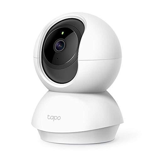 TP-Link Tapo C200 WLAN IP Kamera Überwachungskamera (Linsenschwenkung- und Neigung,...