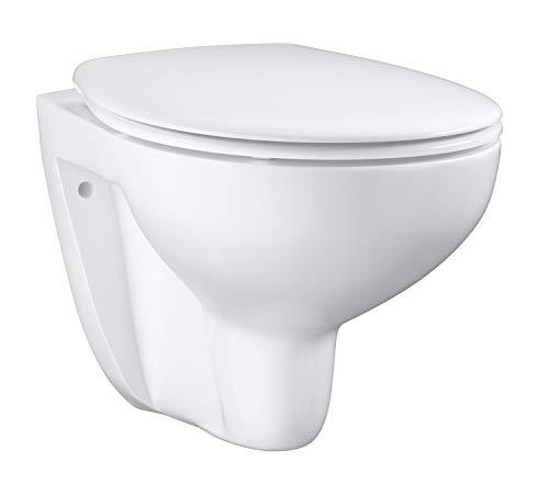 GROHE Bau Keramik | WC - Set Wand-Tiefspül | WC-Sitz mit Absenkautomatik | 39351000