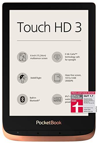 PocketBook e-Book Reader 'Touch HD 3' (16 GB Speicher; 15,24 cm (6 Zoll) E-Ink Carta Display;...