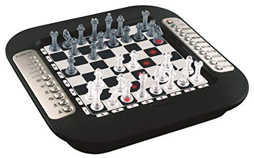 Lexibook CG1335 Chessman FX, Elektronisches Schachspiel mit Berührungstastatur und Licht-und...