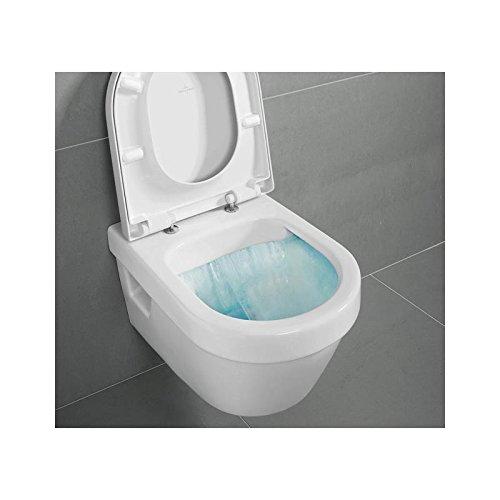 Villeroy & Boch Architectura Kombipack Wandtiefspül WC weiß mit CeramicPlus directflush mit Sitz...
