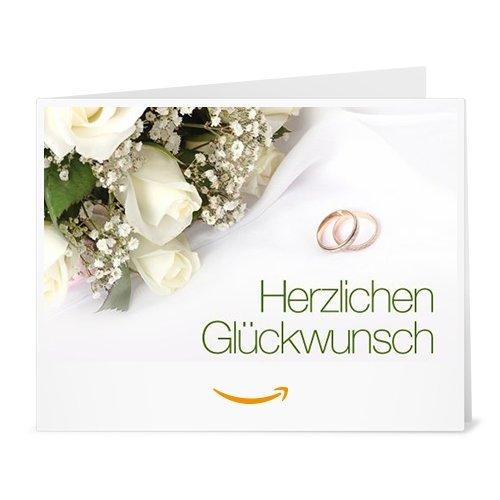 Amazon.de Gutschein zum Drucken (Hochzeitswünsche)