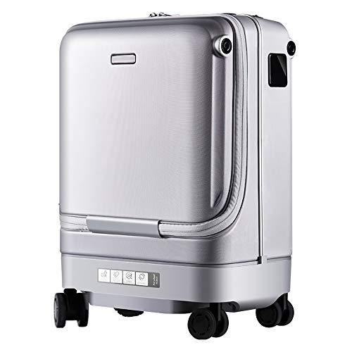 ZOODQ Koffer mit Gepäckauszug Smart-Koffer dabei automatisch Trolley Anti-Verlorene Warnung...