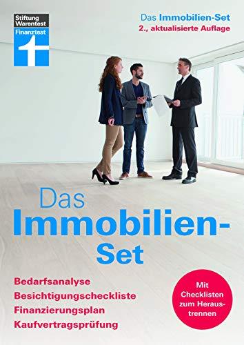 Das Immobilien-Set: Bedarfsanalyse, Besichtigungscheckliste, Finanzierungsplan, Kaufvertragsprüfung...