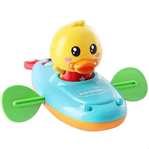 KARLOR Baby Badespielzeug, Badewanne Spielzeug Bade Spielsachen Badeente Bewergungsente Pull String...