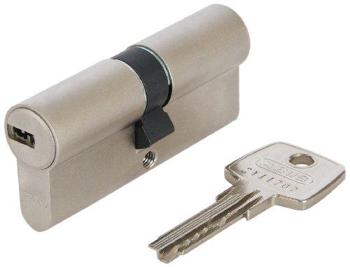 ABUS Profil-Zylinder D6XNP 30/30 mit Codekarte und 5 Schlüsseln, 48297