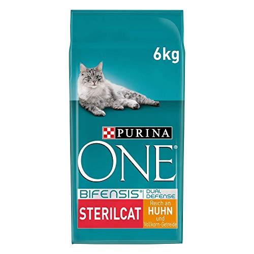 PURINA ONE BIFENSIS STERILCAT Katzenfutter trocken für sterilisierte Katzen, reich an Huhn, 1er...