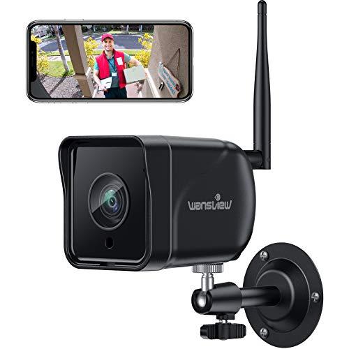 Wansview Überwachungskamera Aussen, WLAN IP Kamera 1080P Outdoor WiFi mit IP66 wasserdicht,...