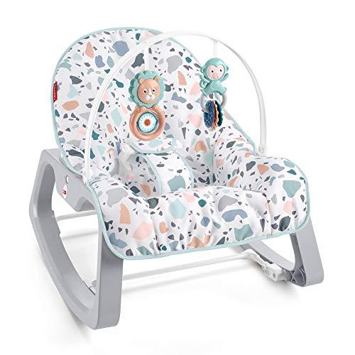 Fisher-Price GWD39 2-in-1 Tragbarer Schaukelsitz für Babys und Kleinkinder bis zu 18kg,...