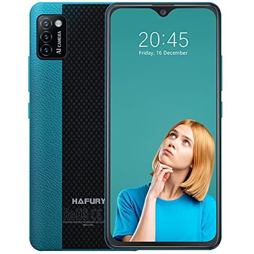 Hafury Günstig Smartphone ohne Vertrag Dual SIM, 4G-LTE Handy 5.5 Zoll Display mit 3100mAh Akku,...