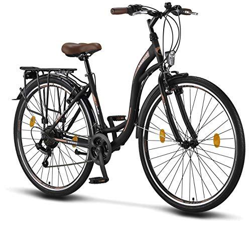 Licorne Bike Stella Premium City Bike in 28 Zoll - Fahrrad für Mädchen, Jungen, Herren und Damen -...