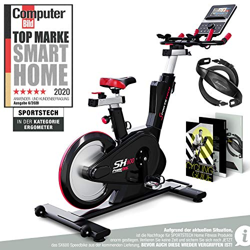 Sportstech Elite Indoor Cycle Bike | Deutsches Qualitätsunternehmen |Video Events & Multiplayer App...