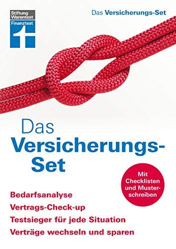 Das Versicherungs-Set: Genaue Bedarfsanalyse - Vertrags- und Versicherungscheck - Sparchancen...