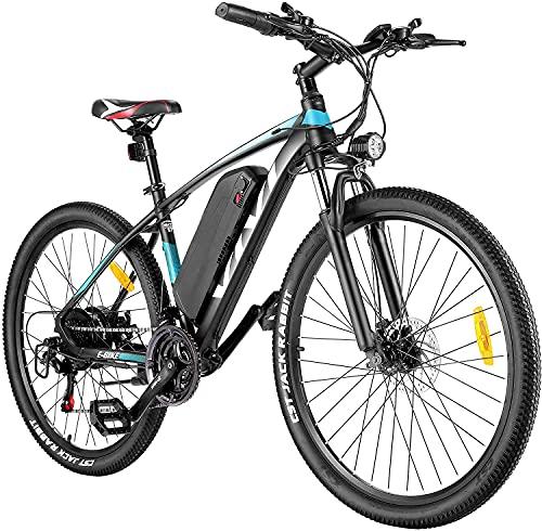 VIVI E-Bike Mountainbike, 26' Elektrofahrrad Pedelec, 350W Electric Bike mit Abnehmbarer 10,4 Ah...