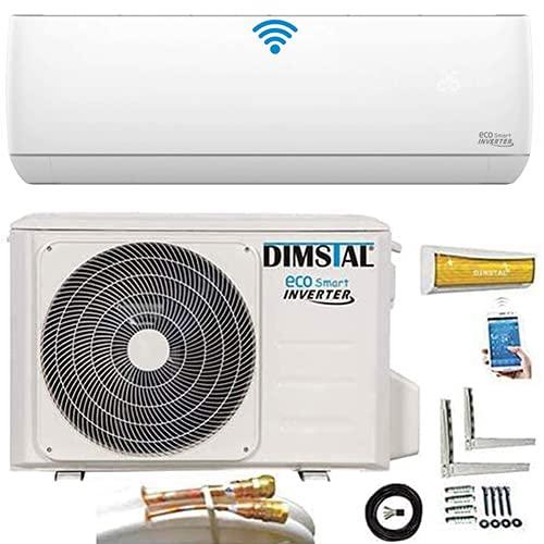 Quick-Connect INVERTER 3,5kW 12000 BTU sehr Leise Split Klimaanlage mit Selbstreinigung Klimagerät...