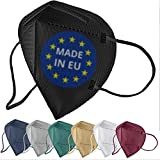 FiRiO® 12x FFP2 Maske bunt [MADE IN EU] - Farbige FFP2 Maske CE zertifiziert nach EN...