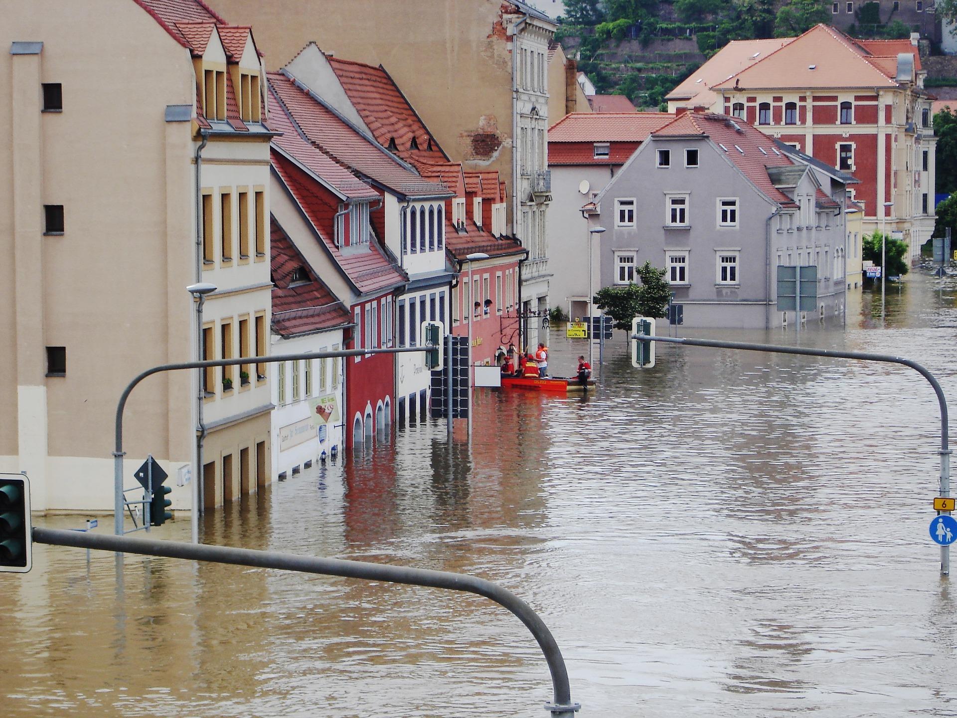 Bei Hochwasser ist die Elementarschädenversicherung ein wichtiger Bestandteil der Gebäudeversicherung.