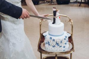 Zur Traum Hochzeit gehört auch eine traumhafte Hochzeitstorte.