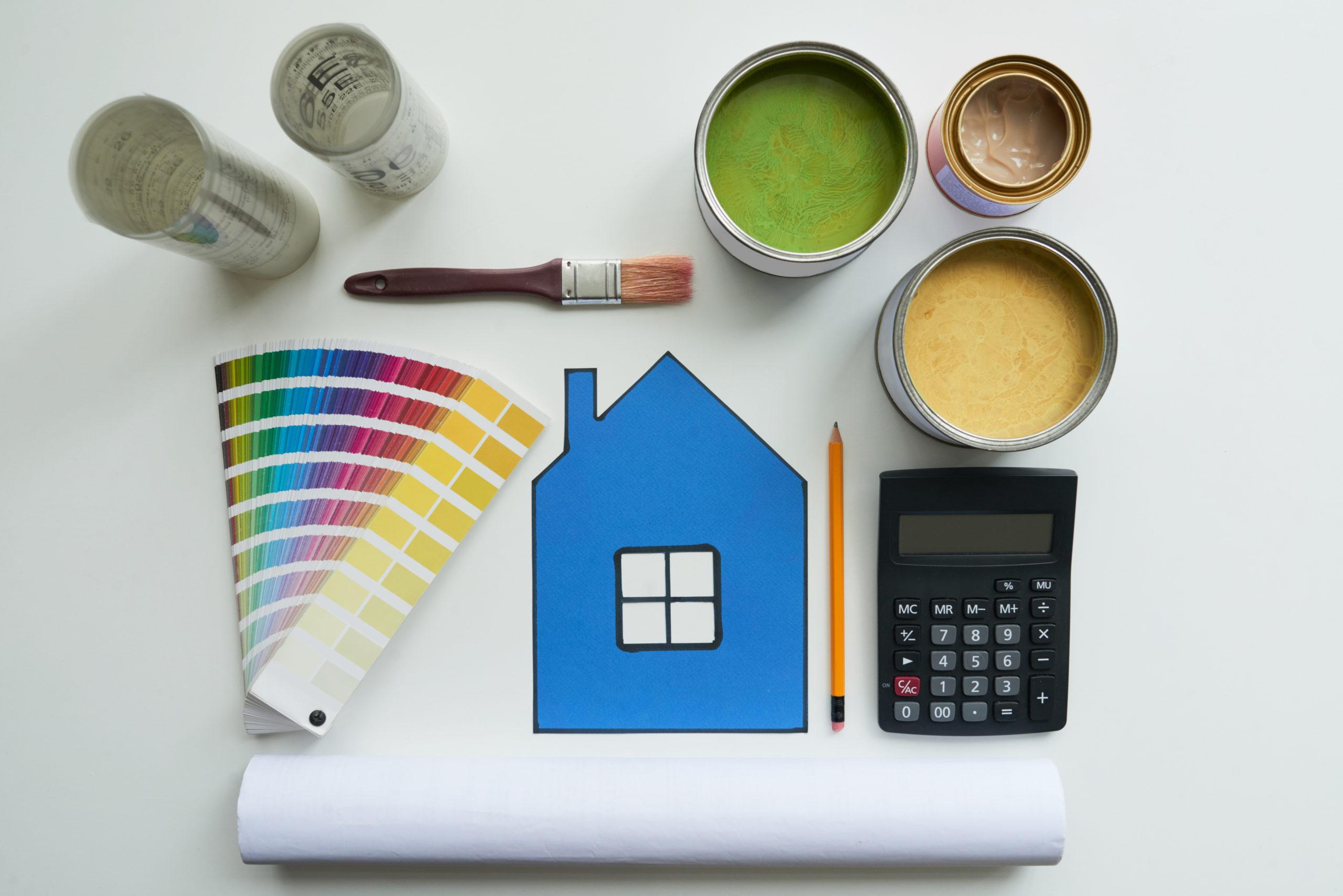 Die Wohnung zu renovieren kann bisweilen teuer werden. Foto: DragonImgages via Envato